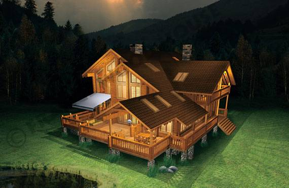 france wood house maisons en bois construction en bois. Black Bedroom Furniture Sets. Home Design Ideas